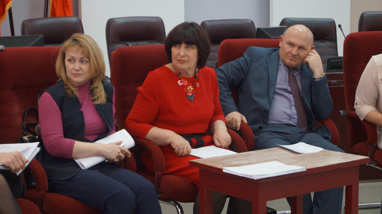 Т.В. Бикулова, Л.И. Климович, В.М. Кеуш (слева направо)