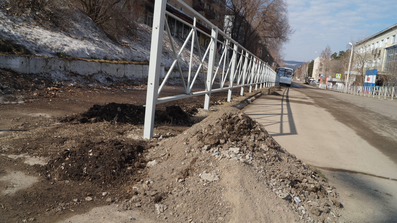 Забор на Комсомольской (1)